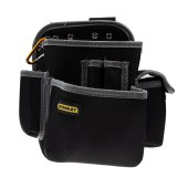 史丹利 工具腰包 四袋双插孔 工具包 多功能工具袋