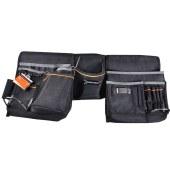 钢盾 工具挂包 630x265mm 3件套 多功能工具包 腰包/1个