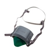世达 半面罩 液体硅胶防尘[宽体] 防护面罩 电焊面罩 防毒面具