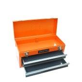 钢盾 工具箱 510x218x250mm 2抽屉 收纳箱 零件箱