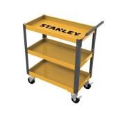 史丹利 工具推车 3格单抽屉 工具车 推车 多功能手推车 零件车/1辆