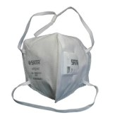 世达 呼吸器 自吸过滤式防颗粒物(KN95折叠口罩带阀) 防护口罩 口罩带阀