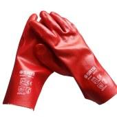 世达 手套 PVC防化耐磨 作业手套 工业防护 干活手套