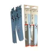 博世 S1126CHF 锯片 5支装 马刀 金属 切割 马刀锯片 往复锯片 切割片 薄锯片 合金锯片 切片/1盒