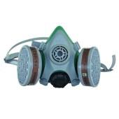 世达 半面罩 双滤盒四阀 防护面罩 电焊面罩 防毒面具