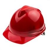 世达 安全帽 V顶 红色 ABS标准 工程 工地 防撞帽 防护帽