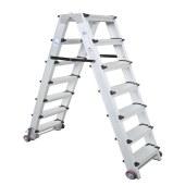 宝富 5档铝合金移动A梯 1.5M
