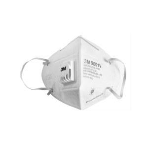 3M折叠式带阀防护口罩(耳戴式)-25只/盒