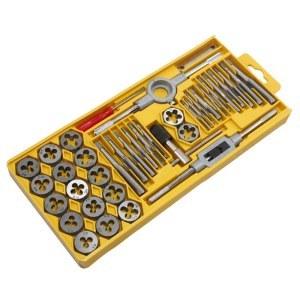 宏远/HOLD-40件公制丝锥板牙套装40件公制