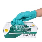 安塞尔/ANSELL绿色丁腈无粉一次性手套L-100只/盒