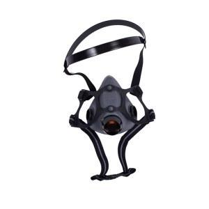 霍尼韦尔双滤盒弹性橡胶半面罩(中号)1 只