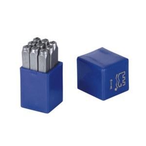 长城精工9pcs数字钢号码4mm