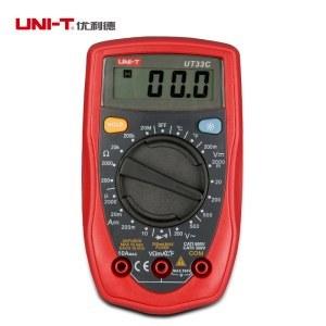 优利德掌上型迷你数字万用表UT33C(1/台)