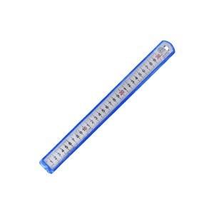 长城精工 05系列亚光套红不锈钢直尺2000*40*1.8mm(GWR-20051)